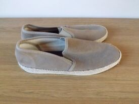 River Island Suede Slip On Shoes Size 9