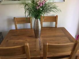 Barker & Stonehouse extending dining table (Kimberley range)