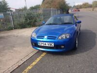 MG TF 1.8 16v (135) CONVERTIBLE (Cool Blue) Great drive, clean good looking car, Cat C