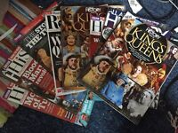 Job lot 9 TUDOR history magazines