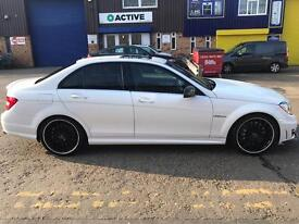Mercedes C63 AMG 6.3 2013 private plate HPI CLEAR LOW MILES