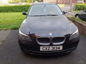 Late 2008 Bmw 520d diesel automatic black