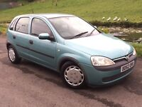 2002 Vauxhall corsa 1.7 Cdi