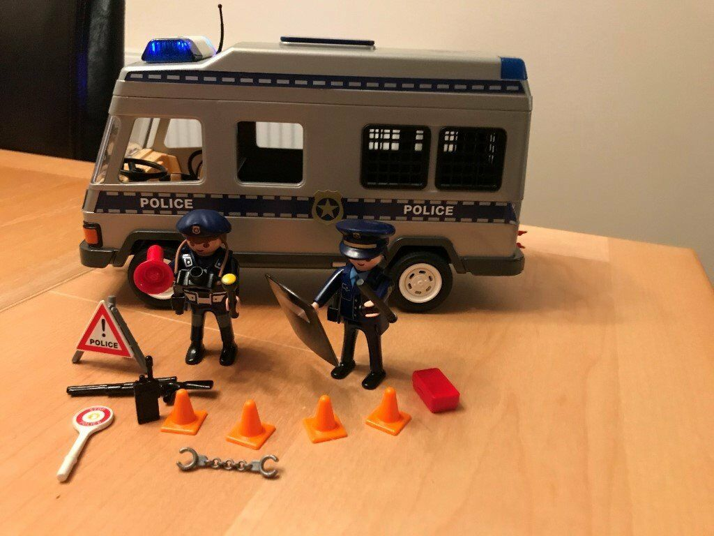 Playmobil Police Van 4023