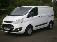 2014(64) Ford Transit Custom Trend 125bhp, IMMACULATE,ONE OWNER, REMAINING FORD WARRANTY, FINANCE?!