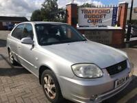 Hyandia Accent, 2004 1.6 good reliable car. Long MOT. No issues cheap car.