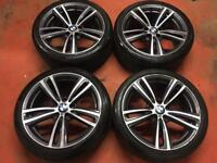 19'' GENUINE BMW 4 SERIES M SPORT 442 ALLOY WHEELS TYRES ALLOYS 5x120 3 E90 F30 F31 F32