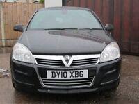 Vauxhall astra 2010 1.4 petrol 5 door black