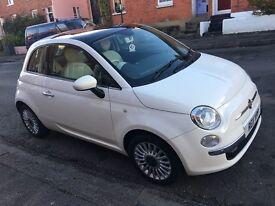 Fiat 500 Lounge start stop 1.2 low mileage