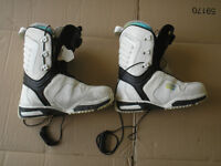 Salomon Pledge snowboard boots UK size 7.5