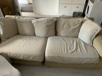 Free sofa - used condition.