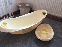 Baby bath and head to toe bowl