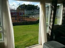 2015 Abi Sunningdale 3 bed/6 berth static caravan overlooking park at Solent Breezes, Warsash