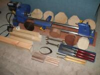 WOOD TURNING LATHE BY RECORD