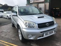Toyota RAV4 2.0 D-4D Granite Special edition 5dr 2005 55 plate
