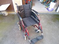 DMA Wheelchair, suitable for adults, folding