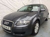 2007 Audi A3 1.9 TDI 105 SPECIAL EDITION 3dr /1 LADY OWNER/FULL SERVICE HISTORY/ T/BELT REPLACED.
