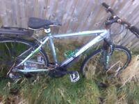 Mounting bike spare & repair