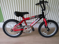 """BOYS BIKE 16"""" WHEELS MAGNA WILD FORCE. GREAT CONDITION."""