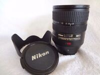 Nikon ED 24-120mm 1:3.5-5.6 VR zoom lens