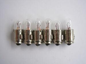 6-LAMPADINE-MICRO-MIGNON-6-VOLT-200-mA-MINIATURE-LAMP-NOS-JEAN-ROCHET-SA