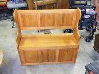 small monks bench