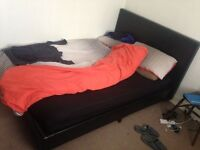 Double bed and two mattress