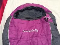 Sprayway Challenger 350 midi sleeping bag (as new)