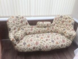 Double ended Edwardian Chaise Lounge