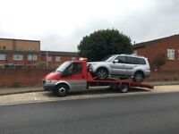 24/7 CAR BIKE BREAKDOWN RECOVERY TRANSPORT TOW TRUCK SERVICES JUMP STARTS FLAT TYRE AUCTION M25 M4