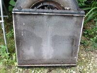 mazda bongo radiator