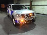 NISSAN PATHFINDER RECOVERY TRUCK 4x4 FULLY KITTED