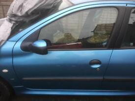 Peugeot 206 N/S/F door