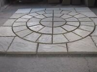 Paving circle including squared off kit