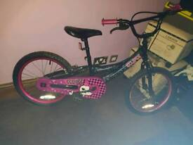 Girls monster bike