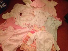3-6 month girls clothing bundle
