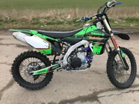Yamaha yzf 450 efi 2013 very clean bike mint condition ( crf kxf sxf or px
