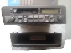 Original Honda Civic 01-05 - Cassette Radio with code and tray