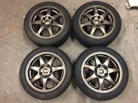 Sprint SW9 Alloy Wheels 16 x 7 ET42 5 x 114 Honda Civic EK EK4 EK9 EG Integra DC2 ETC