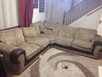 Corner sofa. 3 by 3. Free.