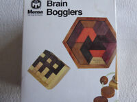 Brain Bogglers! by MENSA The High IQ Society.