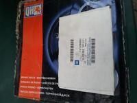 mk4 astra rear discs and genuine gm pads