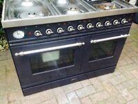 Britannia dark blue Range Gas cooker..90cm Mint Free Delivery
