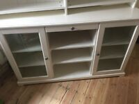 Crockery sideboard/ cabinet and shelf