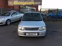 Daihatsu Cuore 1.0 + 5dr,automatic, ONE FORMER KEEPER,