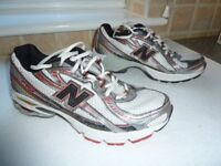 Used trainers / running shoes size 7. New Balance.Good condition.White/grey/red