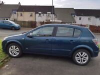 Vauxhall astra. 1.6l. Low mileage. 57 plate.