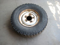 Land Rover steel wheels (4) with BF Goodrich tyres 235/85x16.