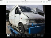 Mercedes sprinter 312 set engine box axles export