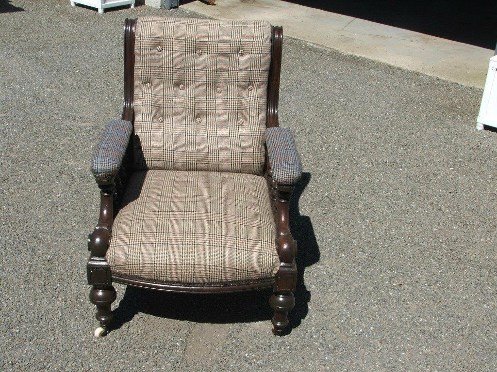 Vintage Tweed Armchair | in Wick, Highland | Gumtree